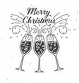 Happy New Year typography vector image vector image