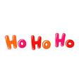 ho-ho-ho web banner vector image vector image