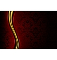 Red Luxury Background vector image vector image