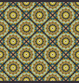 seamless hand drawn mandala pattern for printing vector image vector image