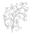 Floral element for your design vector image