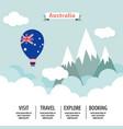 australia country flat vector image