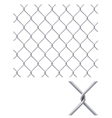 Chain Fence vector image