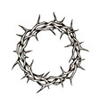 crown thorns image vector image vector image