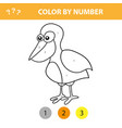 educational children game color picture by vector image vector image