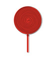 lollipop candy icon image vector image vector image