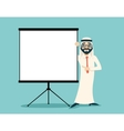 Vintage Successful Arab Businessman Traditional vector image vector image