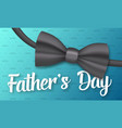 fathers day greeting card vector image