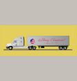 an american semi-trailer truck