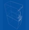 atm bank cash machine concept vector image