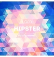 Colorful modern geometric background vector image