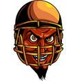 devil or satan american football sports vector image