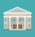 education temple building temple vector image vector image