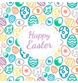 Happy Easter greeting card background color of the