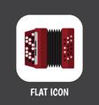 of sound symbol on accordion vector image vector image