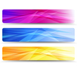 Web Banners Headers - Banner Header vector image vector image