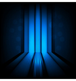 background with abstract lines blue light