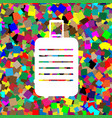 baggage sign white icon on vector image