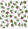 color seamless pattern with sweet vector image