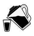 delicious juice drink vector image