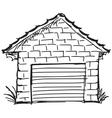 garage vector image