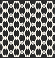 monochrome seamless pattern with ovate shapes vector image vector image