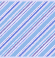 brush striped seamless pattern blue watercolor vector image vector image