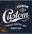custom premium vector image