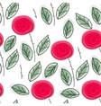 Endless rose pattern vector image vector image