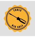 great tools for sale vector image vector image