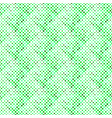 green seamless diagonal square pattern background vector image vector image