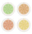 labels and tags collection citrus concept vector image