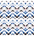 Multicolor hand drawn pattern zigzag vector image vector image