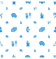 talk icons pattern seamless white background vector image vector image