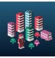 Urban homes vector image vector image