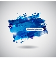 Abstract Background with Blots vector image vector image