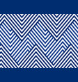 abstract blue striped line serrated pattern vector image vector image