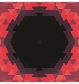 Abstract Hexagonal Shape Background layout for Web vector image
