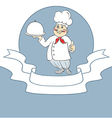 Chef cook man vector image