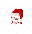 Christmas Typographic design element vector image vector image