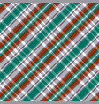 diagonal tartan seamless texture in red different vector image vector image