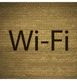 Free wifi icon symbol Flat modern web design with vector image