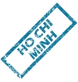 Ho Chi Minh rubber stamp vector image
