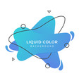 liquid background vector image