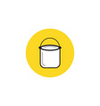 Paint bucket icon house repair symbol