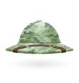 Pith helmet vector image vector image