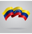 Venezuelan waving Flag vector image