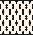 abstract geometric seamless pattern black white vector image vector image