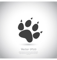 Cat paw print icon