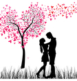 Couple tree vector | Price: 1 Credit (USD $1)